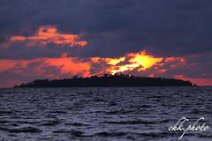 Sunset over Pulau Talisei (chk.photo) Tags: ocean landschaft nature naturewatcher outdoor landscape water indonesien natur indonesia naturemasterclass sulawesi light ngc sunset palme palm flickrtravellaward flickr meer