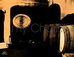 Barricas antiguas (Amy Charlize) Tags: amycharlize focosocial wood wine vins vino old travel barricas catalonia catalunya cataluña magic photography fotografía shadow sepia