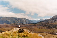 My favourite place in NZ (Chloué) Tags: newzealand southisland roadtrip outdoor nature analogphotography analog filmphotography olympusom1 olympus kodak aotearoa travelpics backpacker moutains clouds lord rings lotr edoras rangitatavalley rohan middleearth canterbury