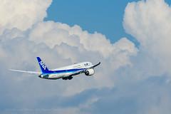 JA878A (arsenalflag_1109) Tags: allnipponairways boeing787 hanedaairport tokyo sky aviation pentax