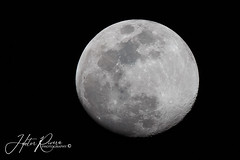 The Moon (Hector A Rivera Valentin) Tags: planet moon sky canon 6d lunar black background full fullmoon circle monochrome night