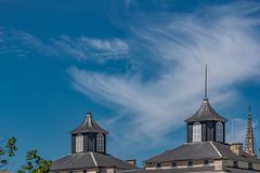 25-Nuages et clochetons (Alain COSTE) Tags: 2019 arbres bordeaux ciel toits mai nuages gironde france