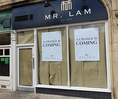 Goodbye Mr Lam. What next for Baluga Bar (Tony Worrall) Tags: architecture building mrlam chinese closed baluga bar inn cafe forgotten window entrance portal door preston lancs lancashire city welovethenorth nw northwest north update place location uk england visit area attraction open stream tour country item greatbritain britain english british gb capture buy stock sell sale outside outdoors caught photo shoot shot picture captured ilobsterit instragram photosofpreston