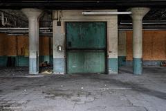 Down (gregador) Tags: cleveland decayed abandoned elevator industry urbex urbanexploring urbanexploration
