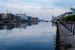 The Blue Hour Dublin (kckelleher11) Tags: 1240mm 2019 ireland olympus beckett blue bridge dublin em1 hour mzuiko may omd samuel