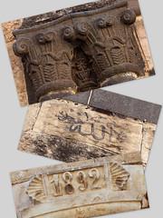 eski yapı ayrıntıları