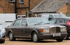 399 VPU (Nivek.Old.Gold) Tags: 1986 bentley mulsanne s 6750cc cromwellscarsales