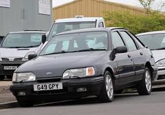 G49 GPY (2) (Nivek.Old.Gold) Tags: 1989 ford sierra xr4x4 2933cc