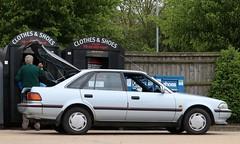 G393 AAR (1) (Nivek.Old.Gold) Tags: 1990 toyota carina ii gl 5door liftback 1587cc westpark southendonsea