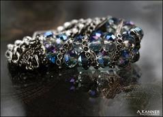 Looking Close... Bracelet (angelakanner) Tags: canon70d lensbaby velvet56 manualfocus lookingcloseonfriday bracelet