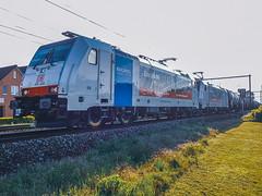 DB Cargo 186 498 & 186 493 met petrol trein @ Kermt (Hasselt) (Avinash Chotkan) Tags: db cargo trains belgium traxx br186 gatx traction
