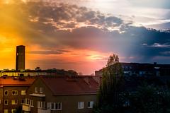 Sunset (Maria Eklind) Tags: sweden sunset ribersborg malmö solnedgång sky skånelän sverige