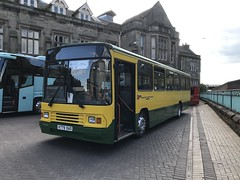 WTHT 779 @ Carlisle train station (ianjpoole) Tags: workington transport heritage trust volvo b10m alexander ps k779dao 779 working rail replacement bus service from carlisle this is former stagecoach cumbria north lancs 20779
