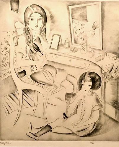 """La Toilette"" (undated) - Mily Possoz (1888-1967)"