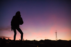 San Francisco You're a Woman (Thomas Hawk) Tags: america california cookieladyd daniway danielleway mission missiondistrict sf sanfrancisco sutrotower usa unitedstates unitedstatesofamerica sunset fav10 fav25 fav50 fav100