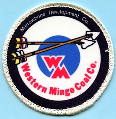 Marrowbone Development Co. Western Mingo Coal Co. (Coalminer5) Tags: coalmining coalminer coalmemorabilia coalcollectibles coal mining miningmemorabilia miningcollectible miningartifacts miner sewonpatch patch