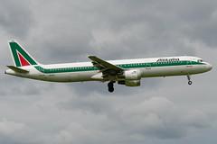 I-BIXQ Airbus A321-112 586 EHAM (CanAmJetz) Tags: ibixq airbus a321 alitalia aircraft airplane landing 586 eham ams