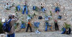 GIRONA TEMPS DE FLORS - la paret i el fotograf (Joan Biarnés) Tags: gironatempsdeflors2019 girona 317 panasonicfz1000