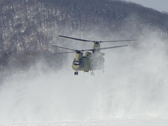 Snow Chinook (airforce1996) Tags: usarmy army goarmy pennsylvania usmilitary military helicopters helicopter aircraft aviation