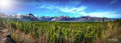 Canadian Rockies - 18 images (Pat Kavanagh) Tags: photoshoptextured canadianrockies rockymountains alberta canada hdr panorama
