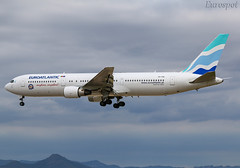 CS-TSU Boeing 767 EuroAtlantic (@Eurospot) Tags: cstsu boeing 767 767300 euroatlantic lebl barcelona