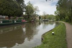 Approaching Leighton Lock (Romeo Mike Charlie) Tags: grandunioncanal