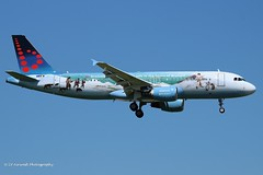 OO-SNE_A320_Brussels Airlines_Bruegel (LV Aircraft Photography) Tags: airliner brusselsairlines a320 specialcs