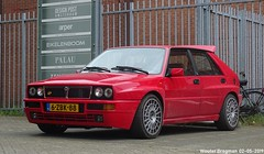 Lancia Delta HF Integrale Evoluzione II 1991 (XBXG) Tags: 6zbk88 lancia delta hf integrale evoluzione ii 1991 lanciadelta 16v red rood rouge hot hatch hatchback cruquiusweg amsterdam nederland holland netherlands paysbas youngtimer old classic italian car auto automobile voiture ancienne italienne italie italia italy vehicle outdoor