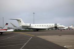 G-GSVI Gulfstream G650, Executive Jet Charter Ltd, Bristol Airport, Lulsgate Bottom, Somerset (Kev Slade Too) Tags: ggsvi gulfstream g650 executivejetcharterltd flyingcentre eggd bristolairport lulsgatebottom somerset