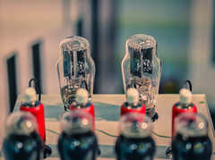 red and black (*Capture the Moment*) Tags: 2019 amplifier audio exhibition fair fotowalk highend mai may messe munich music musik münchen sonya6300 sonyfe55mmf18 sonyilce6300 technik technology tube tubeamplifier valve verstärker valveamplifier