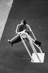 morning gymnastics (pantrocky) Tags: sonya7 moscow morning gymnastics minoltamcrokkor200mmf4