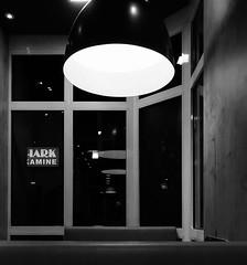Illumination (frankdorgathen) Tags: sonyrx100m3 sonyrx100iii ruhrpott ruhrgebiet dortmund banal mundane monochrome blackandwhite schwarzweiss schwarzweis licht light lamp lampe spiegelung reflection