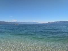 (Boris Zhigun) Tags: nokia zeiss smartphone mobilografiya sky croatia sea mountains clouds boat novivinodolski adriaticsea gradient seascape nokia61