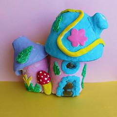 My home (Argyro Poursanidou) Tags: fairy house home craft handmade color diy