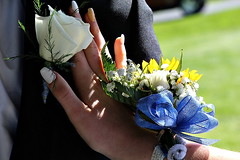 PROM FLOWERS (MIKECNY) Tags: prom flower corsage boutonneire hand finger nails wrist cohoes