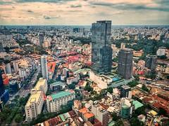 Ho Chi Minh city skyline (Saigon) (suzeh01) Tags: highrise asia cityskyline city skyline hochiminhcity saigon vietnam