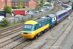 After around 32 years of working in to Hereford the last schedule passenger working of the HST class 43 is due to take place in to Hereford on the 18-05-2019 with the 1W08 18.22 Paddington to Hereford. (Robert Lewis(railhereford)) Tags: