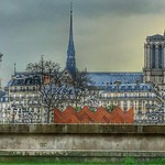 Paris   France  ~  Notre-Dame Cathedral  ~ Cathédrale Notre-Dame de Paris ~ Pinacle - Spiral Spire - Lost Paris thumbnail