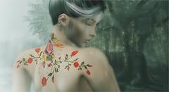 Sixteen (tarja.haven) Tags: kiratattoo tattoo hair ebento doux photography photo pixelart tarjahaven event avatar secondlife sl digitalart fashion virtual