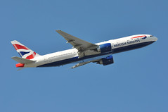 'BA31F' (BA0193)  LHR-DFW (A380spotter) Tags: takeoff departure climb climbout boeing 777 200er gviih toflytoserve emblem achievement crest coatofarms internationalconsolidatedairlinesgroupsa iag britishairways baw ba ba31f ba0193 lhrdfw runway09r 09r london heathrow egll lhr