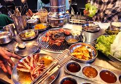 Korean barbecue... (Asiacamera) Tags: asiacamera bangkok thailand