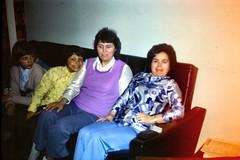 519_PaulAndyHilaryElvieApril1972 (wrightfamilyarchive) Tags: paul andy hilary elvie wright april 1972 1970s 70s seventies