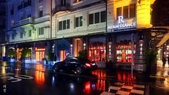 Night at Sempacherstrasse (A. Wee) Tags: lucerne switzerland 卢塞恩 瑞士 luzern 夜晚 sempacherstrasse street night
