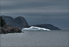 Batmobile masquerading as iceberg (Felip1) Tags: 195208191c