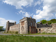 Toward gatehouse (seanofselby) Tags: castle toward harbour lodge gatehouse gargoyles