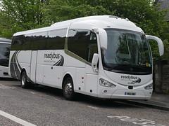 Readybus Heathrow of Wexham Scania K360iB4 irizar i6 YN16WWH at Johnston Terrace, Edinburgh, on 9 May 2019. (Robin Dickson 1) Tags: peakescoachesofpontypool busesedinburgh scaniak360ib4 irizari6 yn16wwh readybusheathrowofwexham
