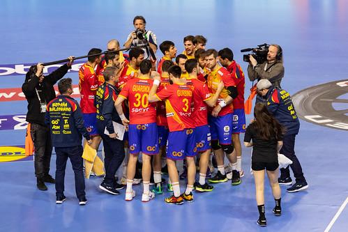 Time out Team Spain Handball World Championship 2019 IHF