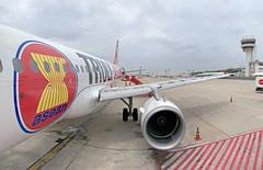 Thai AirAsia Airbus A320 HS-ABE (Kan_Rattaphol) Tags: aircraft airplane airlines a320 a320family a320216 thaiairasia fd hsabe dmk donmuangairport vtbd