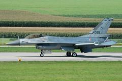 F-16A J-055 gygy cn 6D-138 RNethAF 322Sqn 040903 Payerne 1001 (Nikon Photographer NL) Tags: rnethafnavy military dutch nederlands aviation