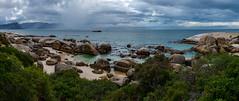 BouldersBeach (RickG59) Tags: south africa boulders beach clouds sky rocks ocean green westerncape